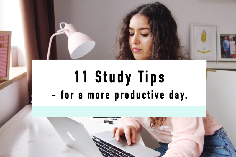 11 study tips